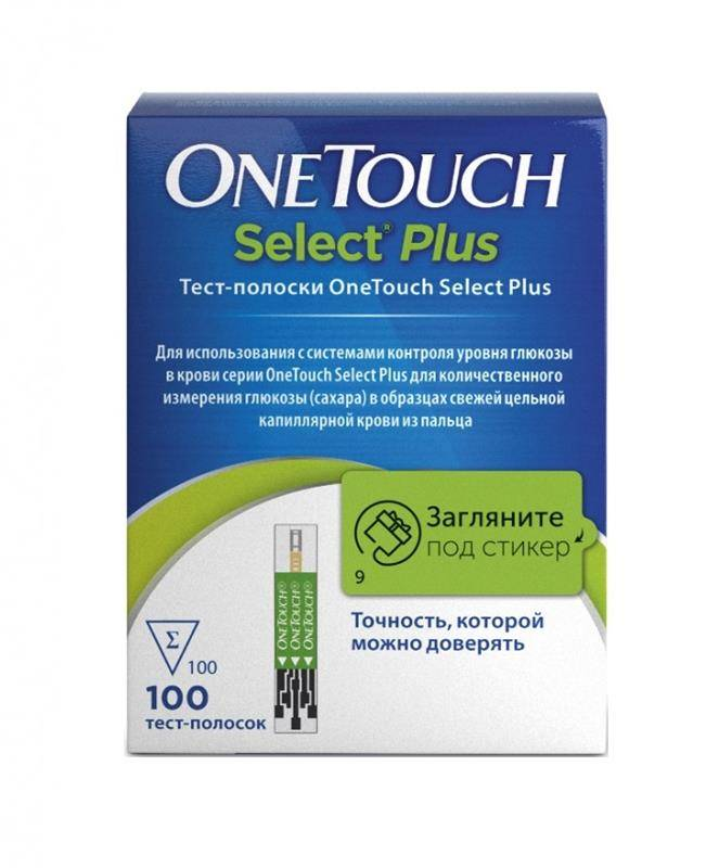 Обзор глюкометра one touch select